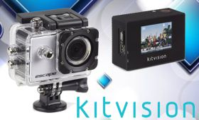 Actioncam, Kitvision Escape HD5, silber