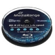Blu-ray R-Disc, MediaRange, 4x, 25GB, Cakebox10 pr
