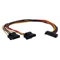 IT Y-Powerkabel 1xSATA zu 2x Molex