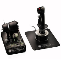 Joystick Thrustmaster Hotas  Warthog Flight Stick + Dual Throttle (PC-Spiel)