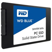 SSD 2.5 Zoll, SATA3, Western Digital Blue, 500GB