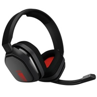 Headset Astro Gaming A10 Headset, grau/rot (PC-Spiel)