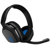 Headset Astro Gaming A10 Headset, grau/blau (PC-Spiel)