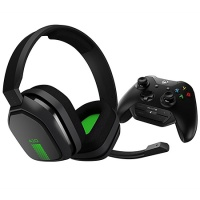 Headset Astro Gaming A10 inkl. Mix Amp, grau/grün (Xbox One)