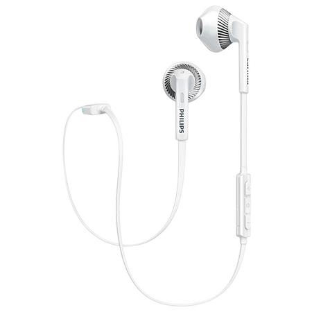Headset Philips In-Ear SHB5250 wireless, weiss