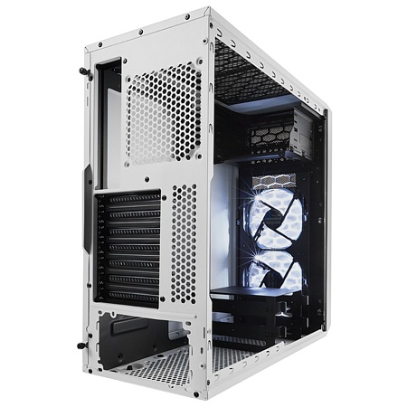 Midi-Tower, Fractal Design Focus G, weiss