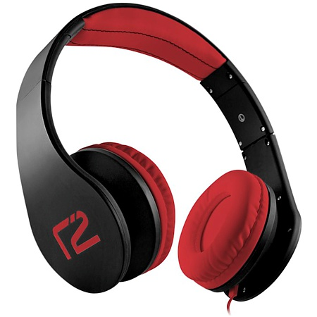 Headset ready2music Inspiria, schwarz/rot