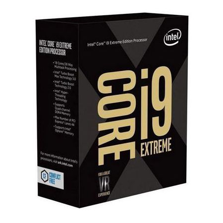 CPU Intel Core i9-9980XE (18x 3.0Ghz)