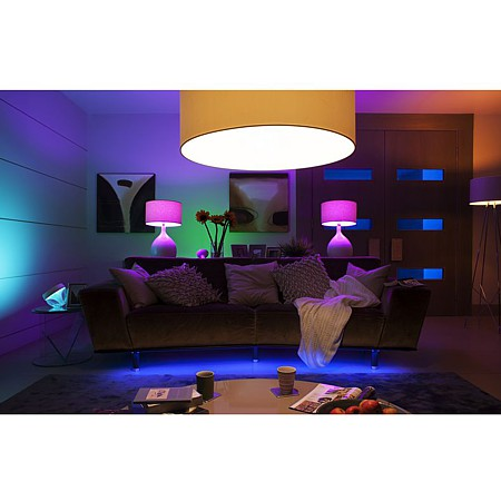 Philips hue Erweiterungslampe E27, Color (RGB), 2x