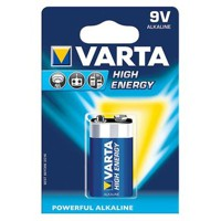 Batterie VARTA High Energy, 9 Volt E-Block, 1 Stk.
