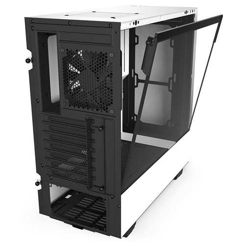 Midi-Tower, NZXT H510, weiss