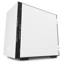 Midi-Tower, NZXT H210, weiss