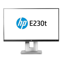 Bildschirm LED 23 Zoll HP Elite E230t Touch Matt