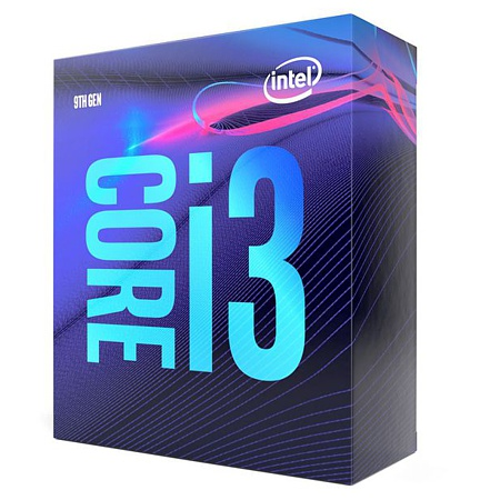 CPU Intel Core i3-9100 (4x 3.6Ghz)