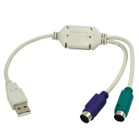 IT USB-Konverter zu 2x PS2