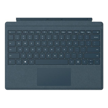 Microsoft Surface Signature Type Cover, Kobaltblau, CH-Layout, zu Pro 7
