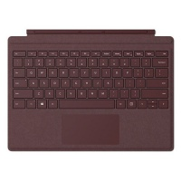 Microsoft Surface Signature Type Cover, Bordeauxrot, CH-Layout, zu Pro 7