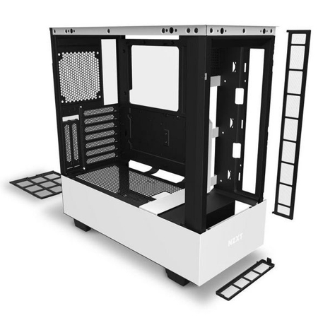 Midi-Tower, NZXT H510 Elite, weiss