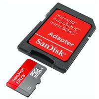 micro SDXC, SanDisk, Ultra Mobile UHS-I, 128GB