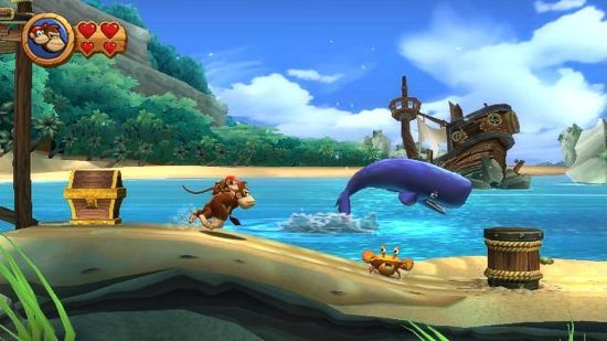 Donkey Kong Country Returns 3D - Nintendo Selects (Nintendo 3DS)