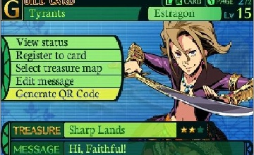 Etrian Odyssey 4: Legends of the Titan (Nintendo 3DS)