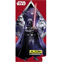 Badetuch: Star Wars - Darth Vader red