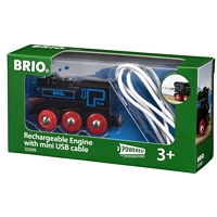 BRIO Railway: Rechargeable Engine with mini USB cable