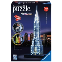 3D Gebäude Puzzle: Chrysler Building - Night Edition