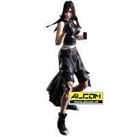 Figur: Final Fantasy 7 - Advent Children - Tifa (26 cm) - Play Arts Kai