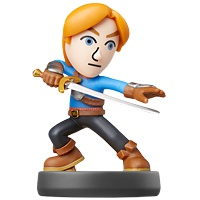 amiibo Super Smash Bros: 049 Mii Swordfighter