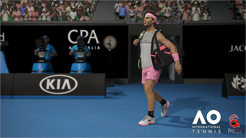 AO International Tennis (Playstation 4)