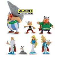 Figurenset: Asterix, 7er-Set