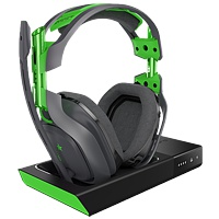 Headset Astro Gaming A50, wireless, schwarz/grün (Xbox One)
