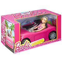 Barbie: Glam Cabrio & Puppe