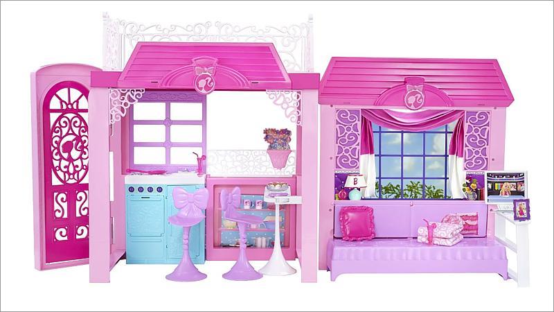 barbie design ferienhaus spielwaren. Black Bedroom Furniture Sets. Home Design Ideas