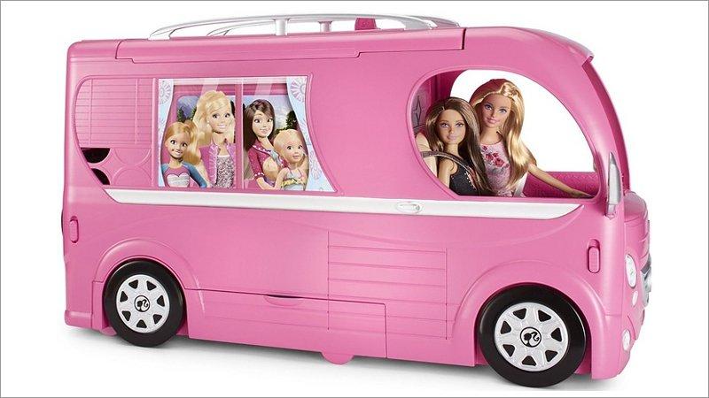 Barbie: Super Ferien-Camper [Spielwaren] - alcom.ch