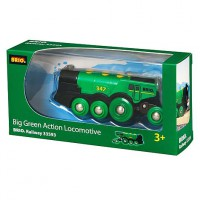 BRIO Railway: Big Green Action Locomotive
