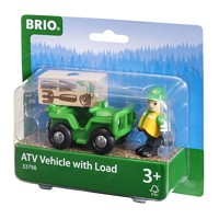 BRIO Railway: ATV with Load
