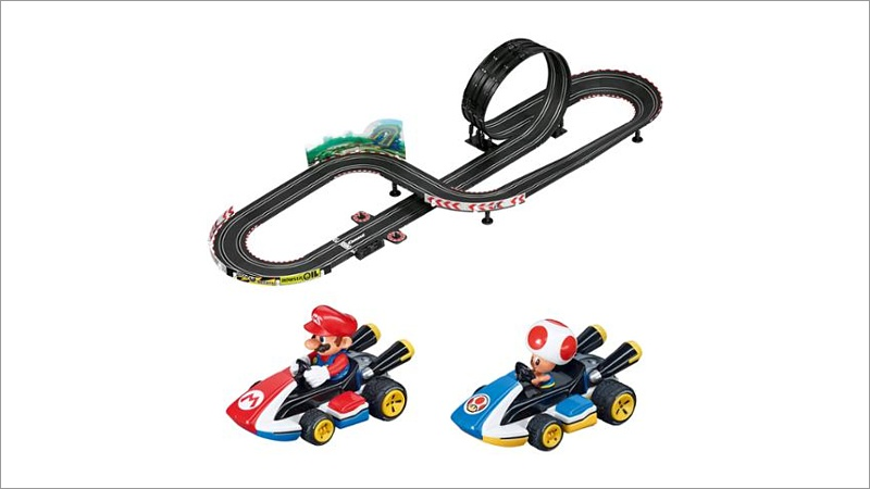carrera go starterset mario kart 8 5 4 m spielwaren. Black Bedroom Furniture Sets. Home Design Ideas