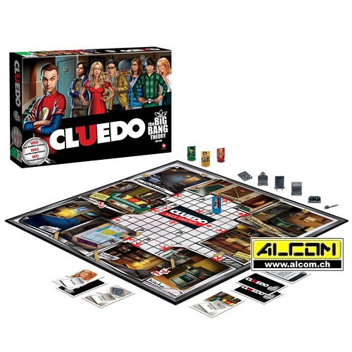 Brettspiel: Cluedo - The Big Bang Theory