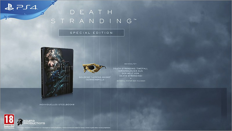 Death Stranding - Special Edition (Playstation 4)