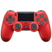 Controller Dual Shock 4, rot V2 (Playstation 4)