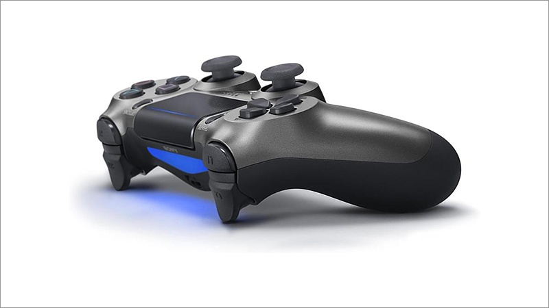 Controller Dual Shock 4, Steel Black V2 (Playstation 4)
