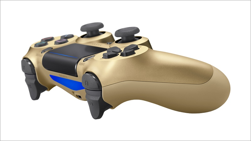 Controller Dual Shock 4, gold V2 (Playstation 4)
