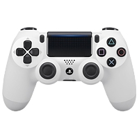 Controller Dual Shock 4, weiss V2 (Playstation 4)