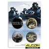 Button: Halo (Set 2)
