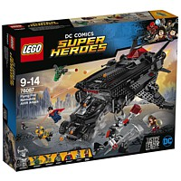 LEGO Super Heroes: Flying Fox - Batmobil-Attacke aus der Luft (76087)