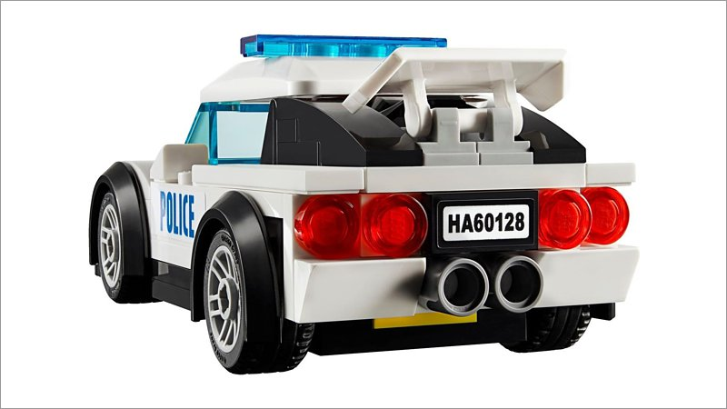 lego city polizei verfolgungsjagd 60128 spielwaren. Black Bedroom Furniture Sets. Home Design Ideas