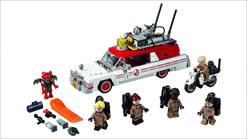 LEGO Ideas: Ghostbusters Ecto-1 & 2 (75828)