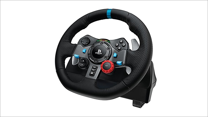 lenkrad logitech g29 racing wheel. Black Bedroom Furniture Sets. Home Design Ideas